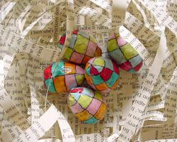 Paper Sculpture Art ~ Patchwork