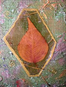 Praying Woman Reliquary ~ David's Leaf