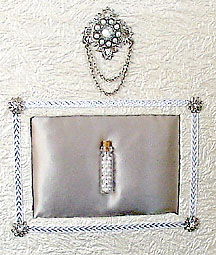 Mixed Medium Art ~ Wedding Pearls