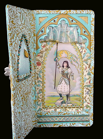 Mixed Media Artwork ~ Saint Joan of Arc