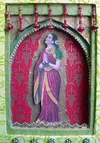 Found Object Art Work ~ Saraswati