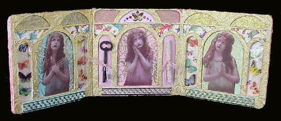 Triptych ~ Marie's Key