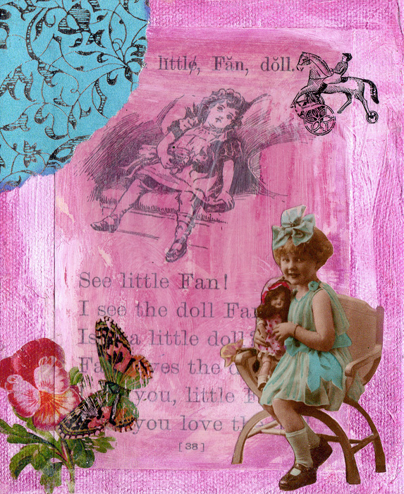 Vintage Collage Art ~ Karen's Whimsy