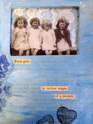Altered Book Project ~ Title Page