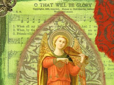 Angel Art Work ~ That Will Be Glory