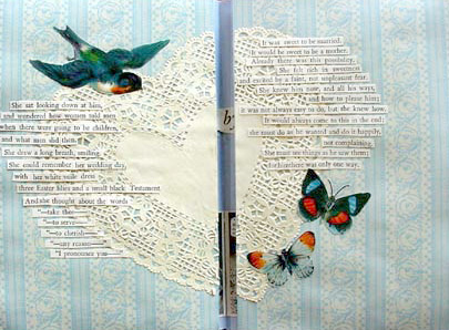 Altered Book Art Ideas ~ Karen's Whimsy