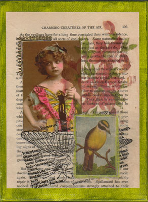 Bird Collage Art ~ Creatures of the Air