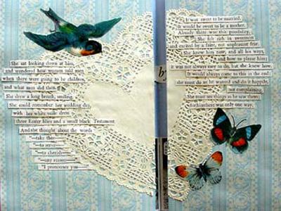 Found Poems In Altered Books Karen S Whimsy