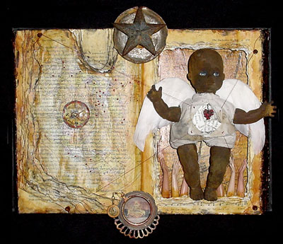 Mixed Media Art ~ The Children's War