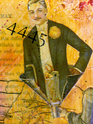 Mixed Media Collage ~ Woman's Ideal #1 ~ 2