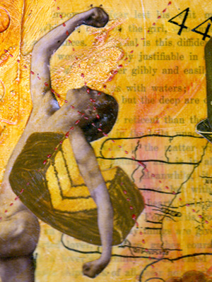 Mixed Media Collage ~ Woman's Ideal #1 ~ 1