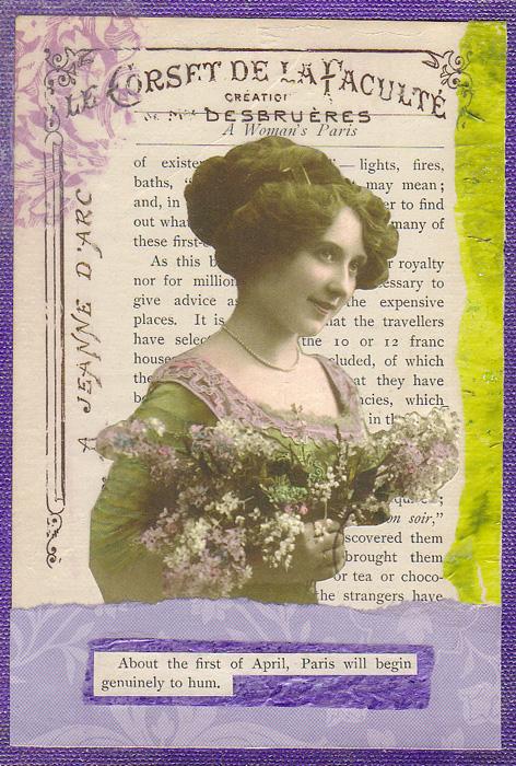 A Woman's Paris-Spring ~ Karen's Whimsy