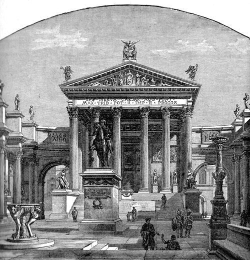Ancient Rome - Temple of Pallas