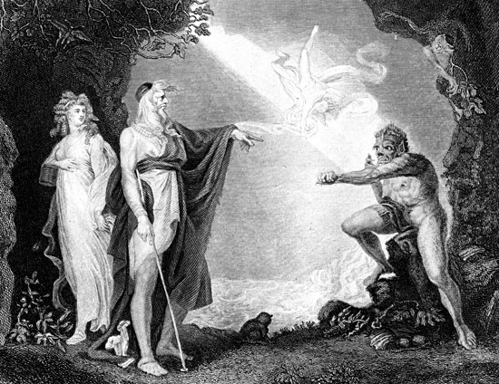 the historical significance of caliban in the tempest