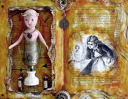 Found Object Art ~ Broken Dolls
