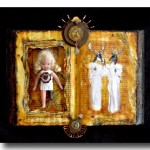 Assemblage Art :: Fear :: Karen's Whimsy