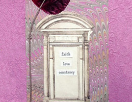 Altered Art Book ~ Faith-Love-Constancy