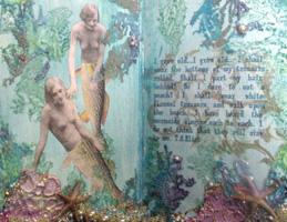 Altered Board Book ~ Sea Dreams