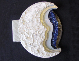 Altered Book Arts ~ Winter Moon