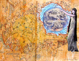 Altered Book Ideas ~ As the Earth Turns