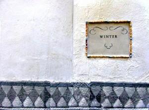 Altered Book Ideas ~ Winter