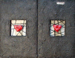 Contemporary Wall Decor ~ Stone Heart