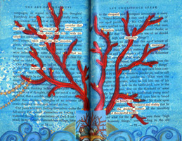 Altered Book Journal ~ Art of Happiness