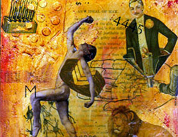 Mixed Media Collage ~ Woman's Ideal #1