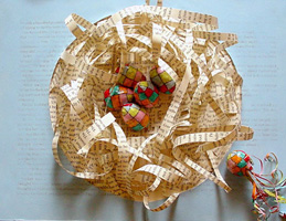 Paper Sculpture Art ~ Patchwork