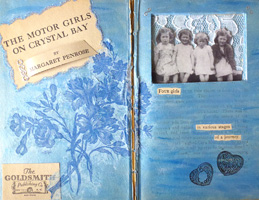 Altered Book Project ~ Motor Girls
