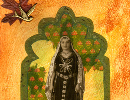 Collage Artwork ~ Persian Princess