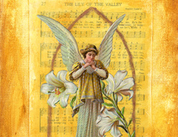 Easter Angel ~ Lily of the Valley