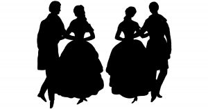 Ballroom Dancing Silhouettes