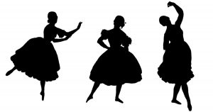 Silhouette Ballerinas