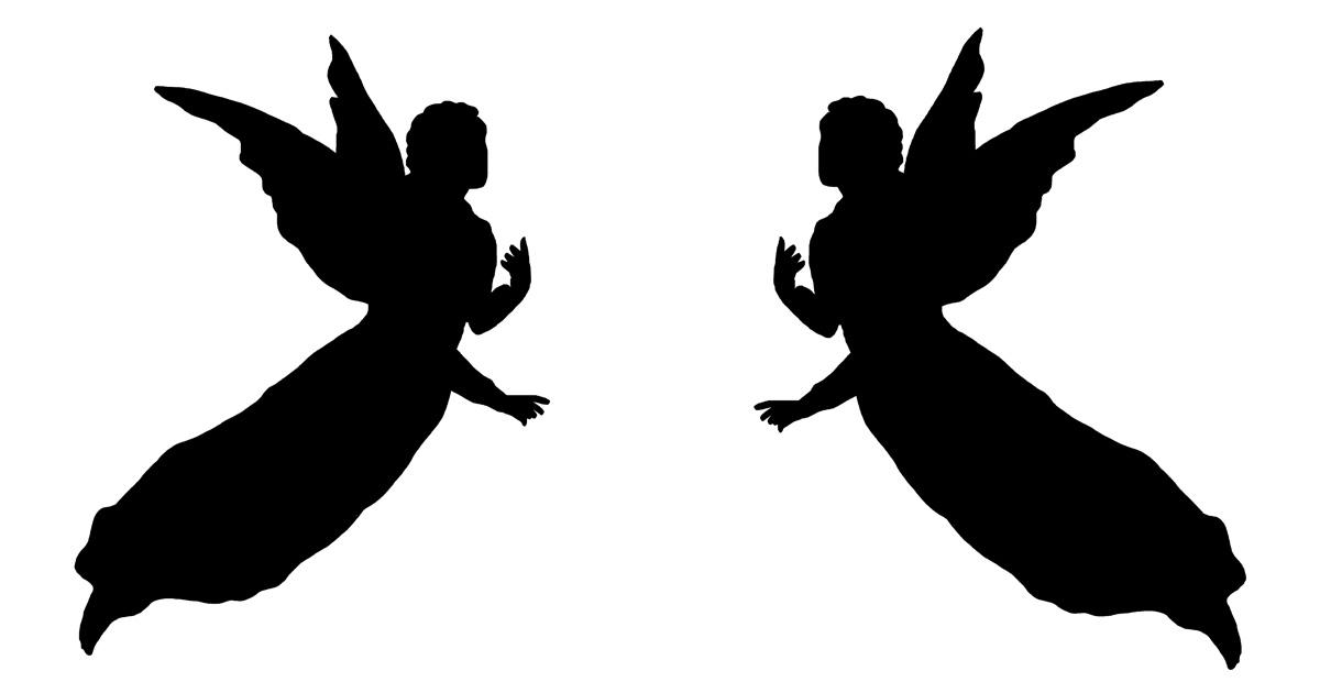 Angel Silhouettes Karen S Whimsy