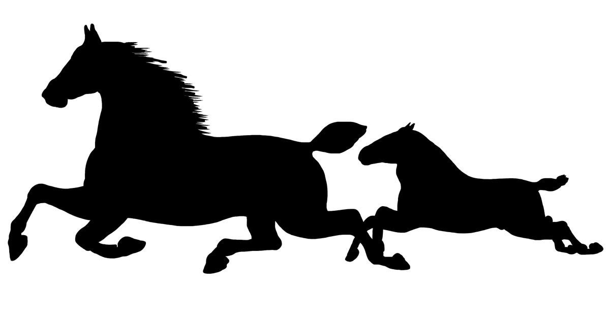 Horse Silhouette Images Karen S Whimsy
