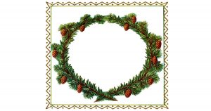free christmas frames and borders