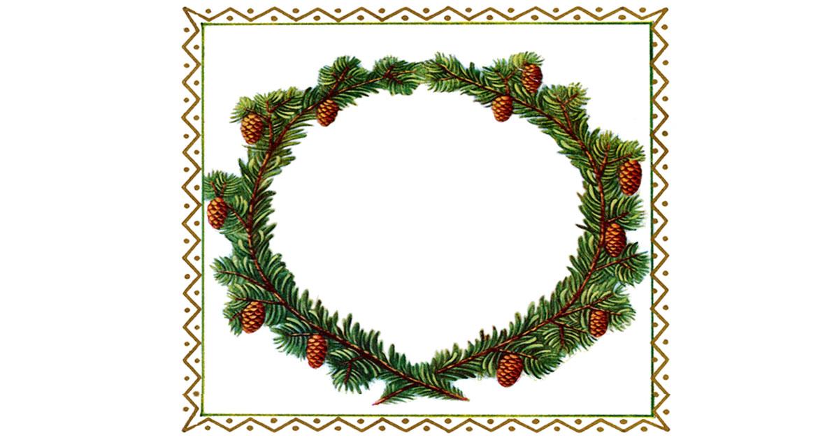 free christmas frames and borders