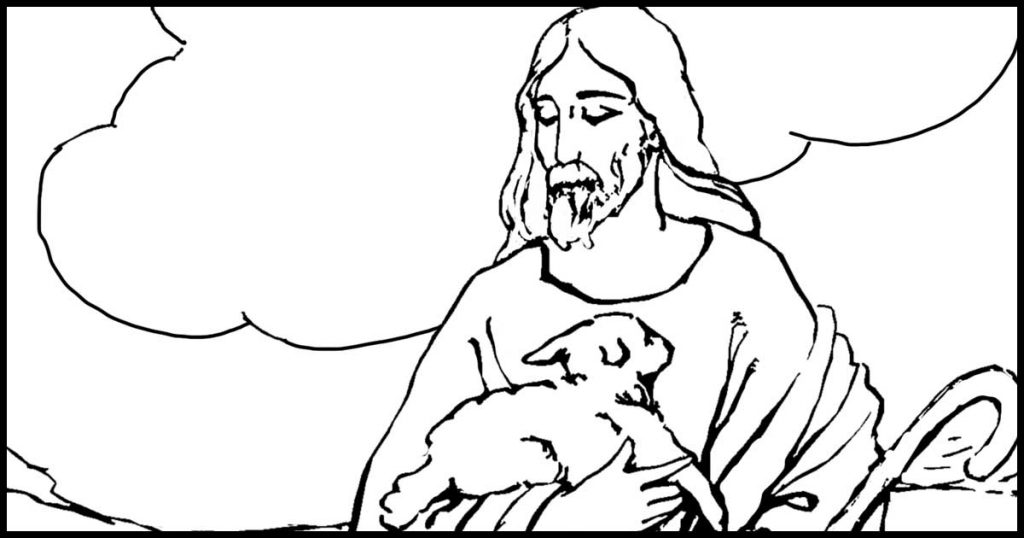Christian and Bible Coloring Pages Album