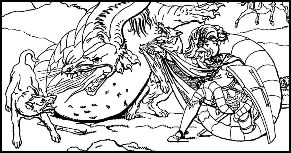 Dragon Pictures To Color