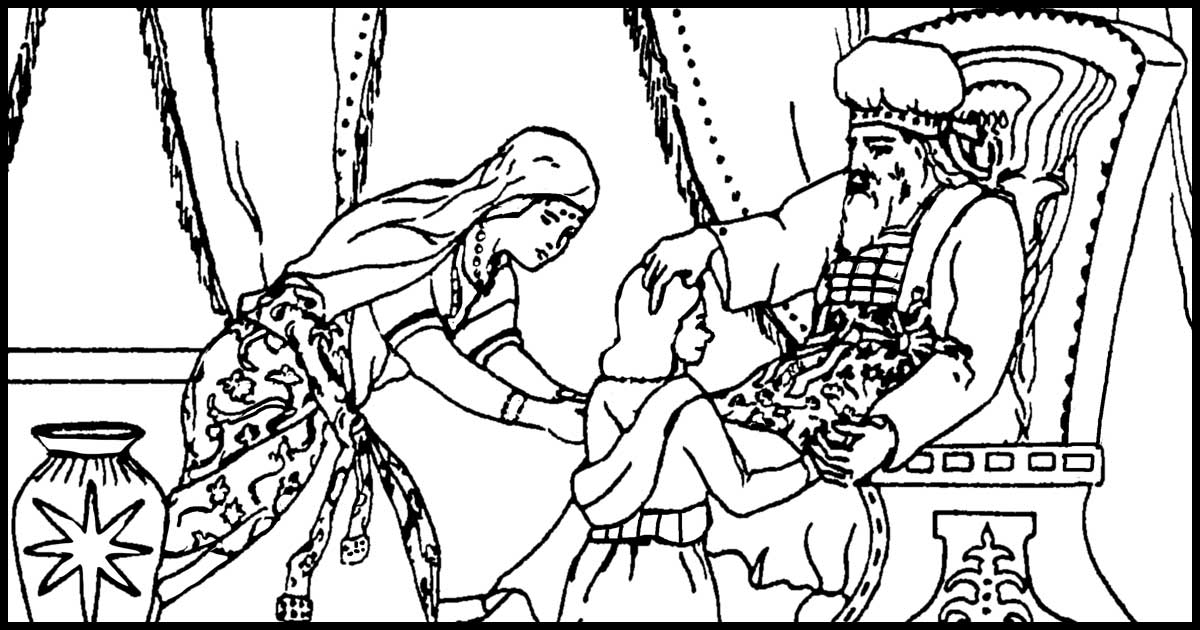 Free Bible Coloring Pages ~ Karen's Whimsy