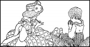 karen whimsy coloring pages - photo#9