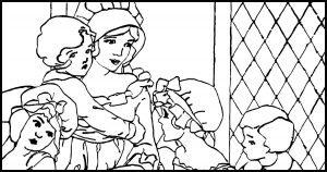 Public Domain Images - Coloring Pages and Sheets