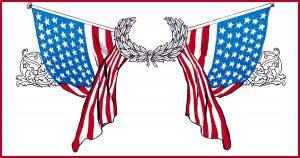 American Flag Clipart