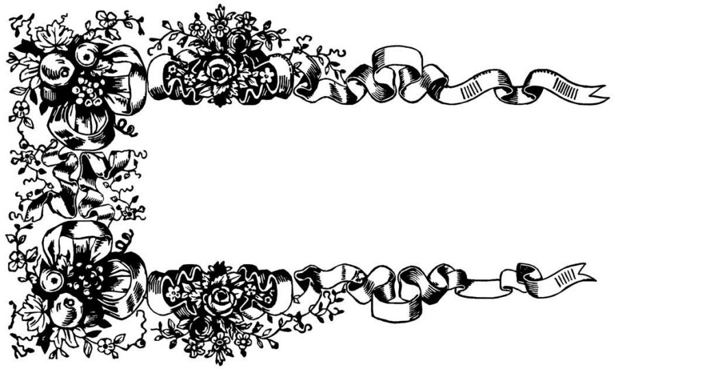 Floral Page Borders
