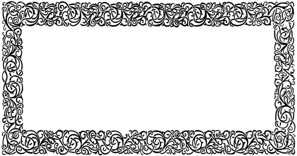 Flower Clipart Borders