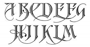 Free Calligraphy Alphabets