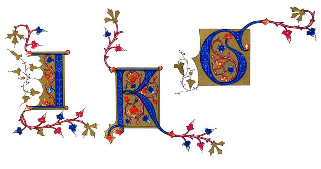 Illuminated Manuscript Letters
