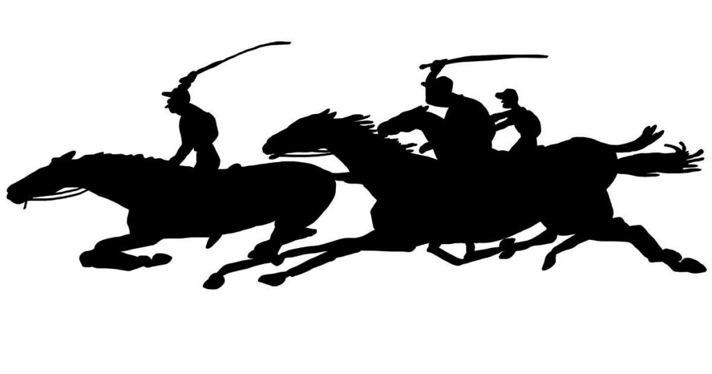 Racehorse Silhouettes