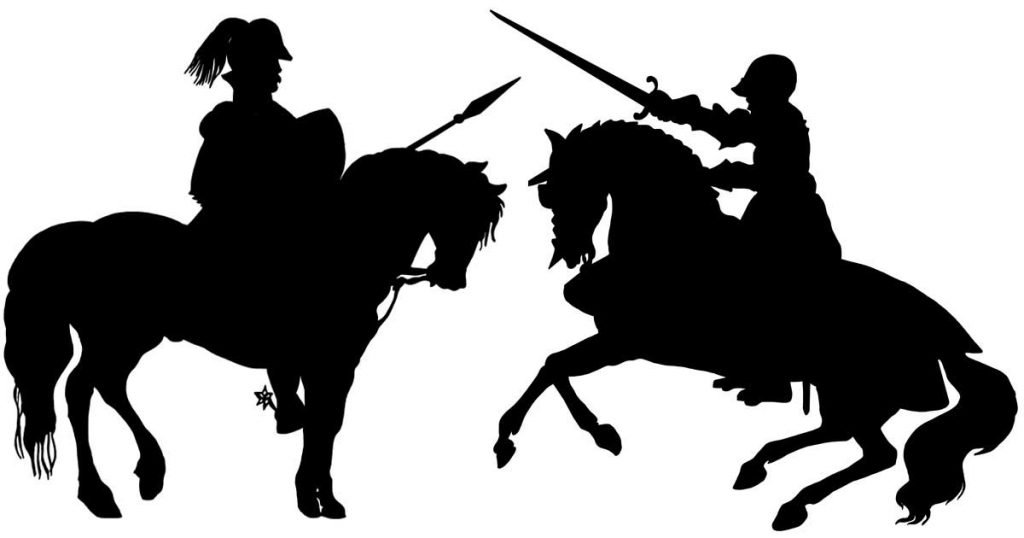 Silhouette Knights